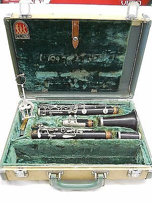 CONN Director Clarinet Vintage Woodwind Band Jazz Instrument Made in USA