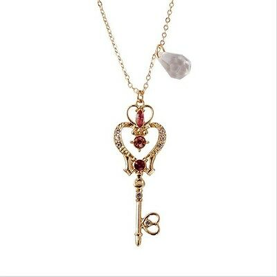 Sailor Moon 25th Anniversary Neo Queen Serenity Tiara Crystal Necklace Jewelry