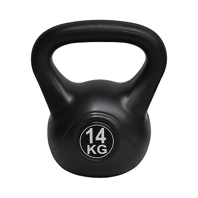 Energetics 14Kg Kettlebell Silver - Home Gym Kettlebell Weight Fitness Exercises