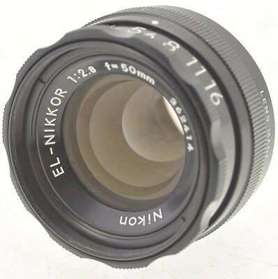 Nikon EL Nikkor 50mm f2.8 Enlarging lens with Cap