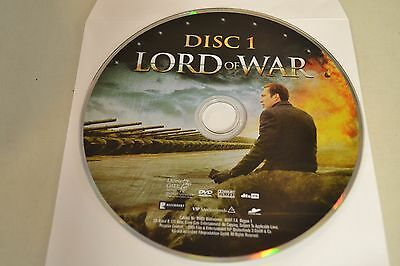 Lord of War (DVD, 2006, Widescreen - Single Disc)Disc Only Free Shipping 5-79