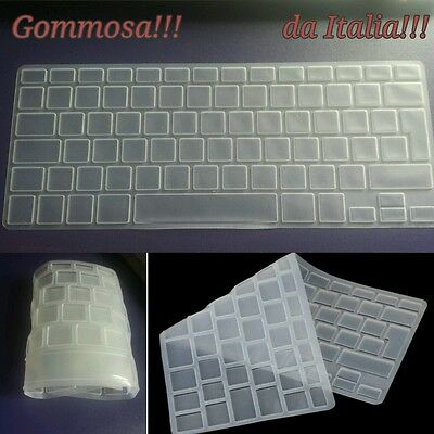Salva copritastiera EU impermeabile silicone gomma per Apple macbook pro 13 13""
