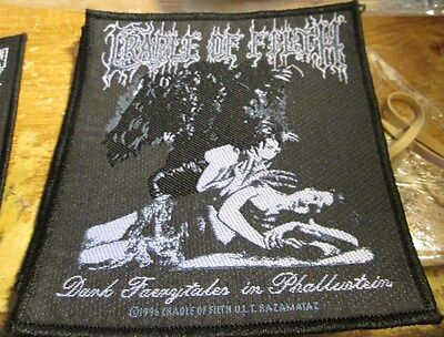Cradle Of Filth Collectable Rare Patch English Woven  Metal