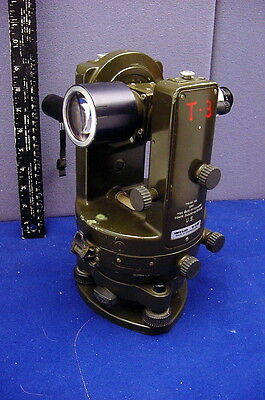 Awesome Vintage Made For U.s. Military Theodolite From Wild - Switzerland -Nice!