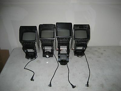 "4-Sony DXF-50 Broadcast Camera View Finder 5"" Color Monitor Used Free Shipping"
