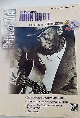 Mississippi John Hurt Early Masters of American Blues Guitar TAB Music Book only