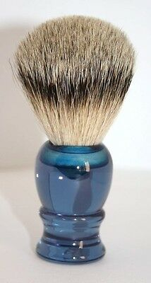 RAZZOOR Shaving Brush Blue Badger Silvertip