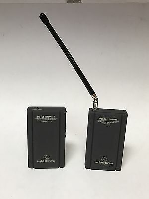 Audio Technica Pro 88W/T Wireless Microphone Transmitter And 88W/R Receiver