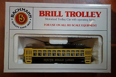 Bachmann Brill Trolley HO Scale South Hill Lines, unused mint, boxed #1315