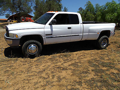 2001 Dodge Ram 3500 LARAMIE SLT QUAD CAB CUMMINS 24V DIESEL 4X4 RUNS GREAT HAS NOT BEEN DETAILED ORIGINAL