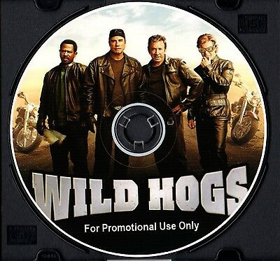 Wild Hogs Harley Davidson Sturgis 2017 CD Soundtrack to DVD