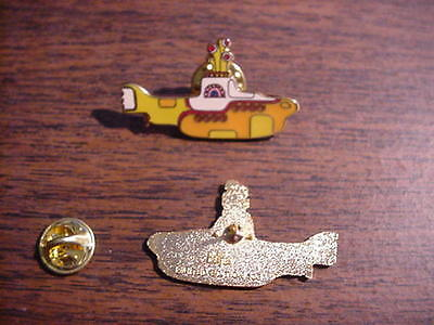 The Beatles YELLOW SUBMARINE  Hat Pin Limited Edition 100  Mint