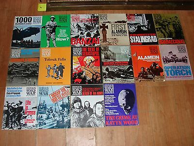 History of the second world war magazine, volume 3, 16 issues 1967