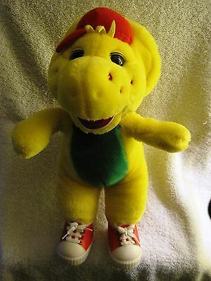 Rare - Vintage - Barney& Friends - Bj Buddy - Plush Toy - Red Running Shoes -Pbs