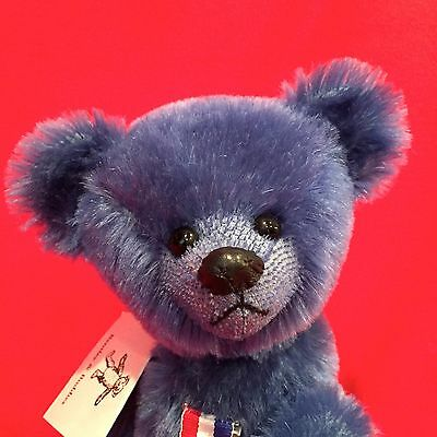 "13"" Bentley And Buddies ""liberty""  - Schulte Mohair Bear"
