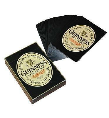 Guinness Extra Stout Beer Playing Cards Sealed Deck New