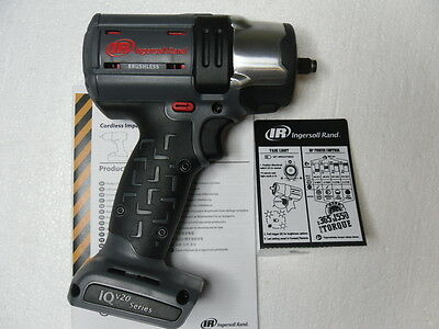 "Ingersoll Rand W5132 3/8"" 20 Volt IQ V20 Series Brushless Impact Wrench 20V"