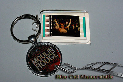 Moulin Rouge - 35mm Film Cell Movie KeyRing and Pendant Keyfob Gift