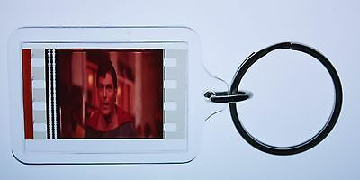 Superman - 35mm Film Cell Key Ring, Keyfob Gift for the Movie Buff