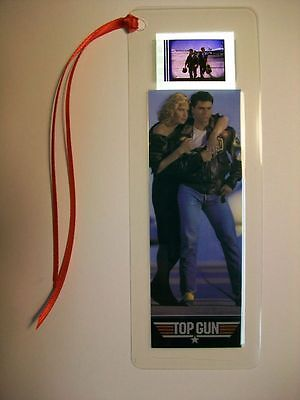 Film Cell Bookmark 35mm -  TOP GUN Movie Memorabilia Gift RARE