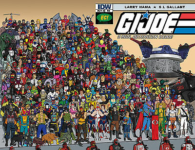 G.I. Joe: A Real American Hero #212 Emerald City Exclusive Variant COBRA cover