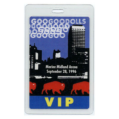 Goo Goo Dolls authentic 1996 concert Laminated Backstage Pass A Boy Named Tour