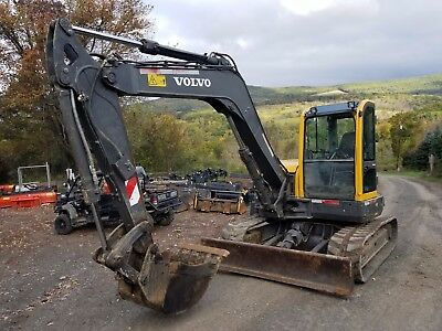 2008 Volvo Ecr88 Excavator Cab Heat A/c Ready To Work In Pa!  We Ship Nationwide