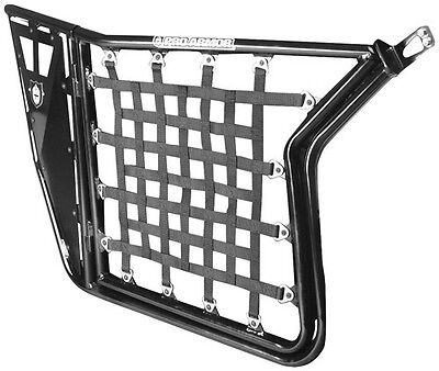 Black Door Nets for Pro Armor Suicide Doors for Polaris RGR RZR 4 800 2012-2013
