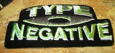 Type O Negative Collectable Rare Vintage Patch Embroided 90's Metal Live