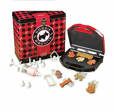 Doggie Biscuit Treat Maker Kit by Nostaglia Electrics