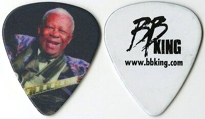 BB King authentic 2014 tour issued custom stage Guitar Pick King of the Blues