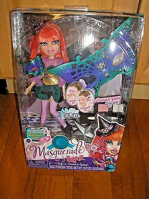 Bratz Masquerade Finora NRFB 2013 with Mask and Face Powder for Child
