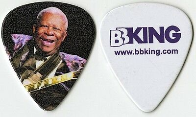 BB King authentic King of the Blues 2014 tour issued custom stage Guitar Pick