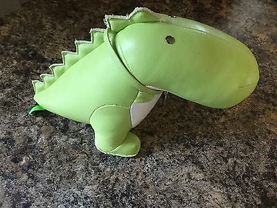 Zuny Bobo Special Edition Dinosaur 1589 Leather Bookend - AS IS