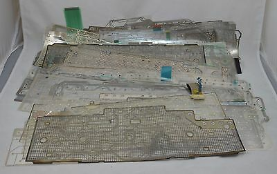 Lot of 120 Mylar Keyboard Sheets for Silver Scrap Recovery NO BLANKS 2+ Pounds
