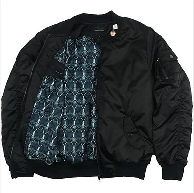 Rick And Morty Daylight Curfew Evil Morty New Xl Bomber Jacket Ltd  Adult Swim