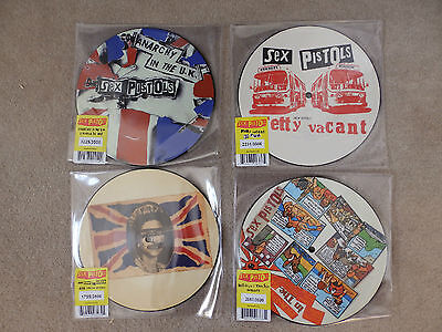 Sex Pistols - All 4 Picture Disc - Each Numbered Limited - All New, Unplayed