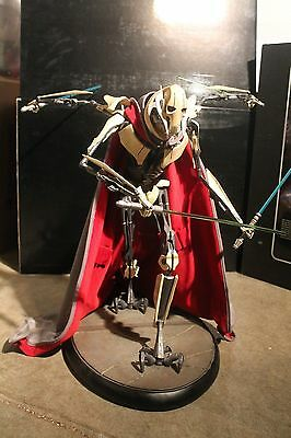 Sideshow PREMIUM Format Figure General Grievous Star Wars Statue side show CAPE
