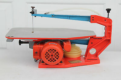 """Hegner 14"""" Multimax-2 SCROLL SAW single speed Great Condition FREE SHIPPING"""