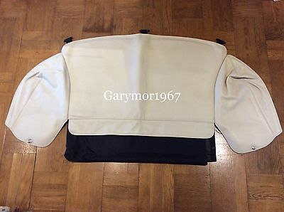Jaguar XK8 XK XKR Convertible Cream Tonneau hood stowage cover + Storage bag