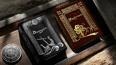 Midgard Rare Limited Edition Custom Playing Cards 2 Deck Collectors Set - Viking