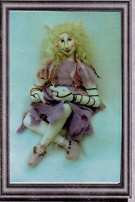fairy cloth doll pattern - Telwyn by Irene McConville - unused vintage - 16""