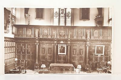 Magdelen College Hall East Oxford Real photo postcard.