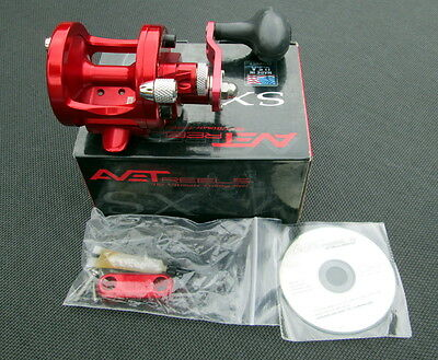 New AVET SX5.3 reel in Red