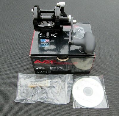 New AVET SX5.3 reel in Black