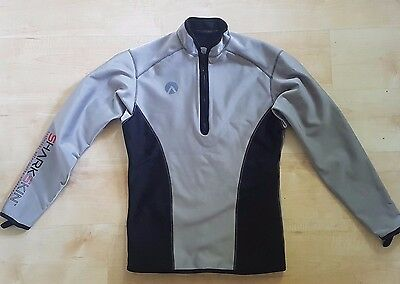 Sharkskin Chillproof Climate Control Long Sleeve Scuba Diving Top RRP £160 LARGE