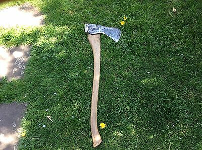 Vintage Axe Spearwell 6lb Large Hatchet Cleaver Garden Tree Felling Old Tool