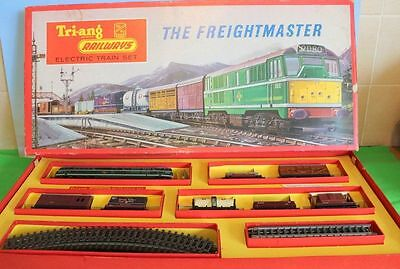 Triang Rs51 Freightmaster Train Set Boxed In Very Good Condition 1960's