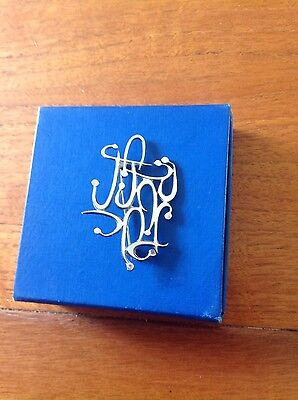 Beautiful Silver Brooch - Stamped 925 Made In Israel