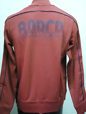 Barcelona Fc Official Licensed Nike N98 Jacket Adults Large New